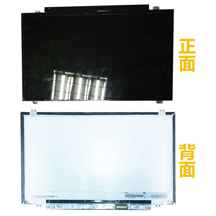 1366x768 14 Inch LCD Screen / TFT Screen Replacement N140BGE E33 30 Pin EDP